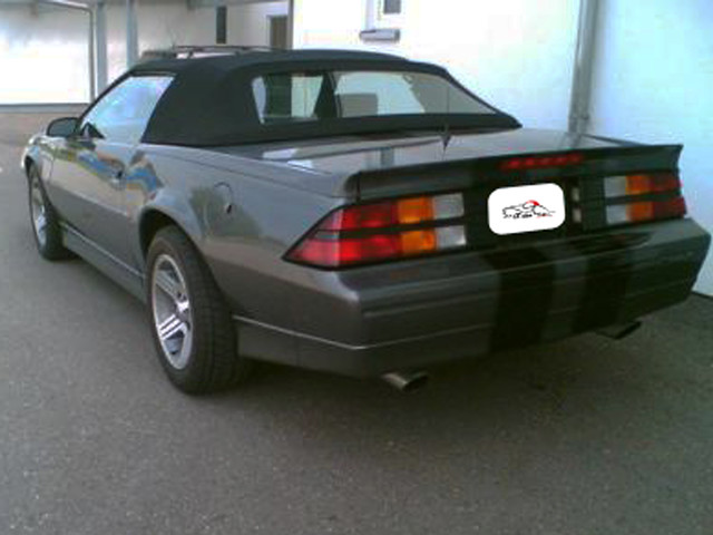chevrolet camaro 1993 1984 z28 irocz verdeck
