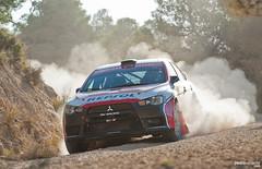 Josep Maria Membrado y Oriol Juli (Pedro Valiente) Tags: rally wrc catalunya evox lancer mitsubishi gravel evo motorsport tierra costadaurada membrado competicin ralli rallyracc