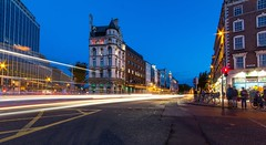 Dublin Lights (melfoody) Tags: ireland dublin southside lighttrails dublin2 westmorelandst