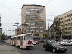 12-09-05 Sarajevo Skenderija Krzg Tw 237 - 01 (tramfan239) Tags: sarajevo tram tramvaj skenderija strasenbahn