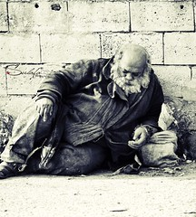 Homeless (Sulafa) Tags: homeless poor shelter abandonment defendant homelessman فقير مشرد