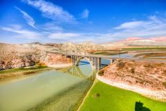 Cayirhan Bird Paradise, Ankara (Nejdet Duzen) Tags: trip travel bridge mountain lake nature turkey day trkiye ankara kpr da gl turkei seyahat doa kucenneti birdparadise nallhan ayrhan pwpartlycloudy