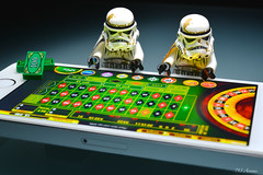 Gambling at Casino (713 Avenue) Tags: blackandwhite trooper apple silver starwars mac nikon lego casino stormtrooper roulette minifig 60mm nikkor whitie retina d800 tatooine iphone minifigure sandtrooper minifigures appleapps itunesstore iphone5 9490 60mmf28gmicro iphone5s