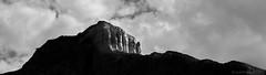 Distant Cliffs (evanffitzer) Tags: blackandwhite bw britishcolumbia wide cliffs clay kamloops canoneos60d evanffitzer evanfitzer