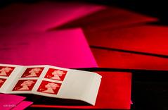 More Stamps! (BGDL) Tags: cards mail stamps 101 christmascards postage envelopes odc inconvenient inconvenience nikond7000 bgdl lightroom5 nikkor50mm118g 113picturesin2013 backtothepostoffice