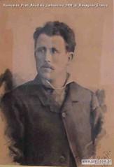 Romualdo Prati Anacleto carboncino 1891 di Ravagnan Franco