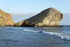 AFS-130497 (Alex Segre) Tags: sea beach rock de coast spain rocks europe mediterranean european scenic playa scene andalucia spanish coastal beaches gata andalusia scenes almeria in monsul a cabode alexsegre gatanijar