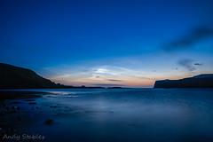 Noctilucent Clouds over Loch Pooltiel (Andy Stables) Tags: cloud skye scotland pier glendale noctilucent pooltiel milovaig meanish