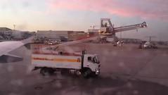 De-icing our wings at Stuttgart (tedesco57) Tags: airport stuttgart aircraft wing deicing