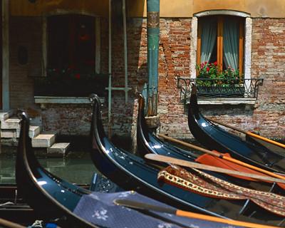 ベネチア午後市内観光とゴンドラ遊覧(海外の水の都・水郷都市を訪問できるオプショナルツアー)