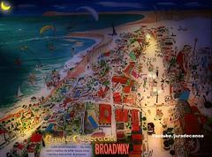 O Mapa Noturno de Canoa Quebrada  -  Mapa Animado da praia Canoa Quebrada - por Juracy Montenegro (juradecanoa) Tags: reis jura fantasia terra festa mapa ceara viva pintura canoa montenegro artista magos quebrada noturno nativo juracy criaao mapinha pictografico
