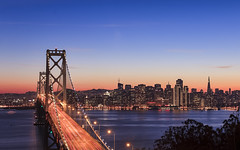 San Francisco from Treasure Island (Sarmu) Tags: sf sanfrancisco california ca city bridge light sunset wallpaper urban usa building skyline architecture night america skyscraper lights bay us twilight highresolution downtown cityscape treasureisland view skyscrapers nightshot unitedstates dusk widescreen landmark icon 1600 baybridge highdefinition resolution northamerica 1200 cbd hd bluehour wallpapers iconic transamericapyramid 1920 vantage vantagepoint ws 1080 1050 720p 1080p urbanity 1680 720 digitalblending 2560 2013 sarmu
