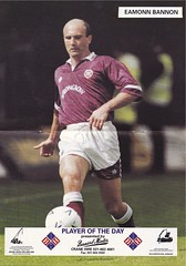 Heart Of Midlothian vs Standard Liege - Page 16&17 (The Sky Strikers) Tags: up poster pin heart eamonn standard liege baldy bannon midlothian heed of
