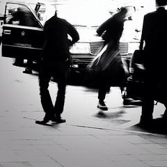Taxi Passengers (s_inagaki) Tags: street blackandwhite tokyo taxi passengers taxipassengers