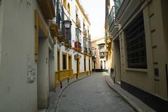 Seville - Hotel Naranjo - San Roque (SKAC32) Tags: sevilla spain seville andalucia espana andalusia narrow sanroque hotelzaida hotelnaranjo