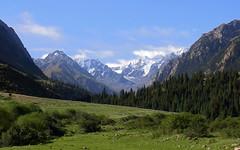 tien shan mountains kyrgyzstan (lercherl) Tags: kyrgyzstan kirgisien قيرغيزستان киргизия 키르기스스탄