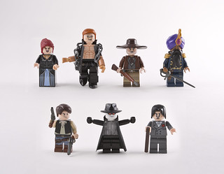 The League of Extraordinary Minifigs.