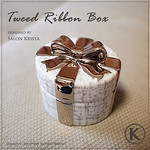 "Tweed Ribbon Box <a style=""margin-left:10px; font-size:0.8em;"" href=""http://www.flickr.com/photos/94066595@N05/13690979454/"" target=""_blank"">@flickr</a>"