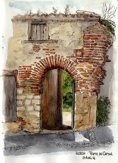 La porte du Capsol, ( une taxe encore ...)