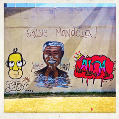 Mandela's on the wall