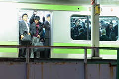 | Crowded Train (Iyhon Chiu) Tags: city station japan train tokyo jr   akihabara  crowded yamanoteline   japanrailway  jr 2013