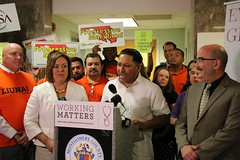 Paid Sick Leave Rally