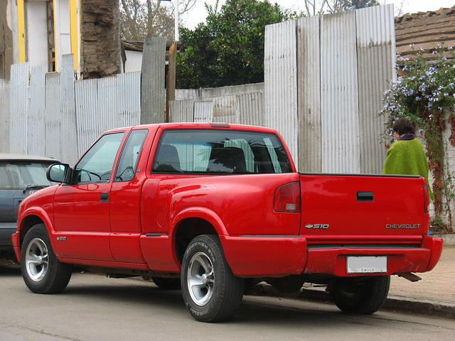 2001 chevrolet gm pickup extended ls s10 43 camionetas sidestep