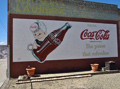 Filer, Idaho (Jasperdo) Tags: sign illustration ad coke roadtrip advertisement idaho cocacola ghostsign filer spriteboy fadingamerica cokespriteboy