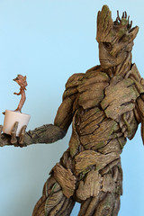 We Are Groot (ShellyS) Tags: actionfigures groot hottoys explored