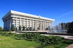 Kirghizstan - Bichkek - Palais prsidentiel (michel.meynsbrughen) Tags: palais kirghizistan prsidentiel bichkek