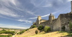 Carcassonne, France (Jeffpmcdonald) Tags: france carcassonne languedocroussillon medievalfortress nikond7000 jeffpmcdonald july2015