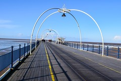 Winter Sunshine On Southport Pier (georgiabowden) Tags: southportpier