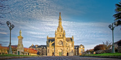 saint anne d auray (fbesrest) Tags: saint anne dauray basilique morbihan sacré eglise church nikonflirckaward nikon d750 samyang 14mm