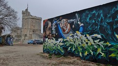 Graffiti La Rochelle, Le Gabut (thierry llansades) Tags: graff graffiti graf graffitis graffs spray aerosol painting bombing art urban larochelle lapallice legabut gabut 17 aunis saintonge urbanart