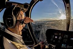 Beyond the Sunset (Mario Rasso) Tags: nikon mariorasso grandcanyon chopper helicopter helicoptero pilot piloto sunset captain d800