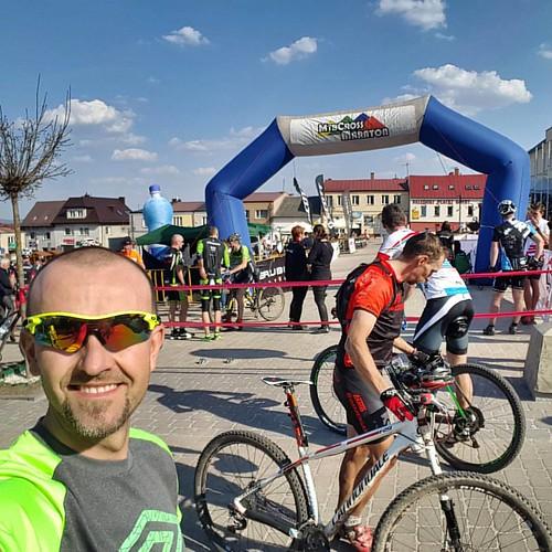 Świetny maraton, trasa i pogoda 😊 A także ulubione 4 miejsce w kategorii M4 😜 #mtbcrossmaraton #chęciny