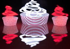Fat Free (g3az66) Tags: fatfree cupcake reflection hindsight lightpainting