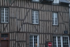 Timbered houses in Rennes (Tomek Mrugalski) Tags: house france houses rennes timbered brittany