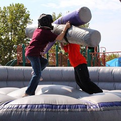 #ThrowbackThursday We can't stop thinking about summer fun! Throwback to our student ministry inflatables gladiator challenges. Students, registration for summer camp is now open! Register before April 15th and receive an early bird discount! Visit http:/ (rcokc) Tags: throwbackthursday we cant stop thinking about summer fun throwback our student ministry inflatables gladiator challenges students registration for camp is now open register before april 15th receive an early bird discount visit redemptionokccomstudents sign up tbt rsm redemptionstudents grandlake summercamp edmond edmondstudents edmondok okc guthrie arcadia