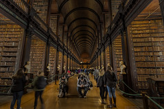 New and Old (MarkWaidson) Tags: dublin trinity college library