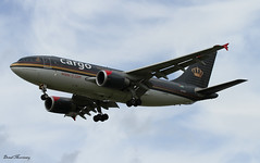 Royal Jordanian A310-300F JY-AGR (birrlad) Tags: morning airplane airport heathrow aircraft aviation airplanes landing approach 27 runway airliner lhrmay2013