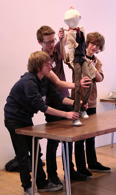 LiveWire Creative Careers Week - Theatre Puppet Making 4