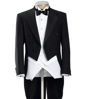 Black Tails Coat Tuxedo Jacket Sizes 4852