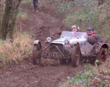classic car trialling 2