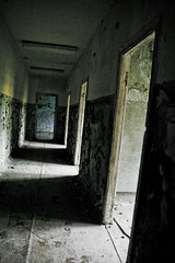 Chernobyl hallway (MoraTilTordis) Tags: dark radiation ukraine hallway disaster second chernobyl pripyat