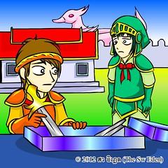 ทักทายกับ 2 อัศวิน (Tuskty & 2 Knights) p.7