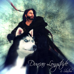 Duncan Longstride & Shadow (CrossroadsGdR) Tags: portrait 3d avatar secondlife rpg duncan gdr pyke