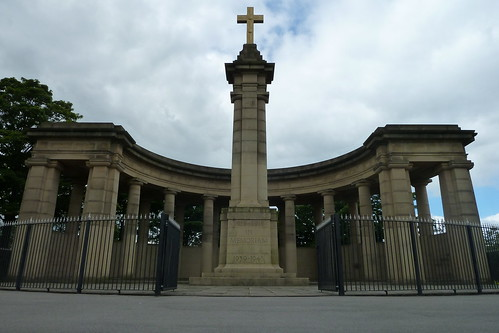 The War Memorial Greenhead Park Huddersfield Yorkshire