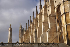 DSC_0710 [ps] - Chapel Cliff (Anyhoo) Tags: old uk cambridge england window glass stone wall architecture gothic row kings repetition kingscollege parallel perpendicular cambridgeshire glazing buttress finial kingsparade kingscollegechapel cambs buttresses kingscollegecambridge