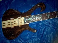 5 string Custom Bass work in progress (3) (LoxPix) Tags: kent bass guitar workinprogress rick mandolin fender beatle crown custom gibson squire hofner epiphone fernandes teisco bowhunter